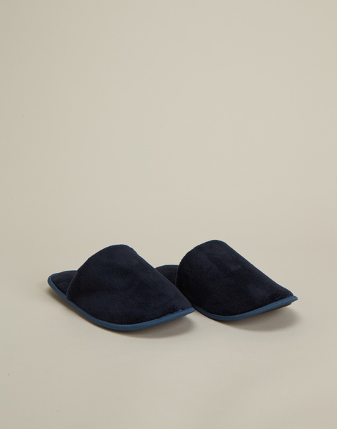 chaussons basiques ouverts homme
