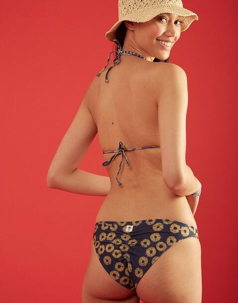 bikinihose brazilian cut tie dye