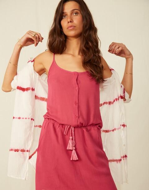 robe courte bretelles