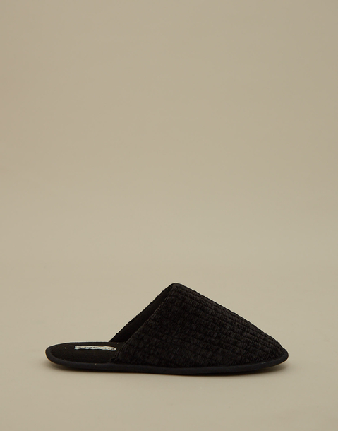 men's chenille slippers