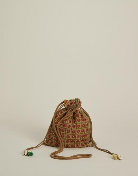 sac bonbonnière avec miroirs