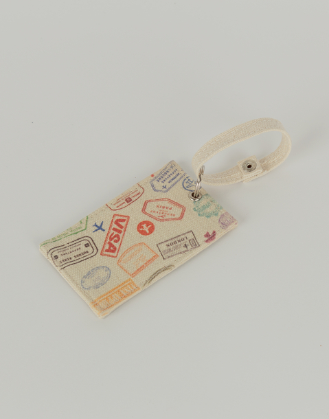 visa suitcase tag