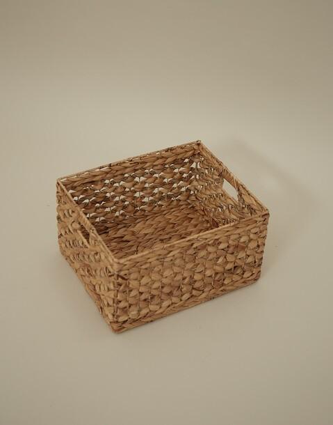 big natural cane basket