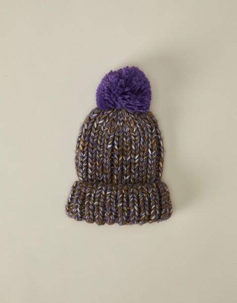chunky knitted beanie