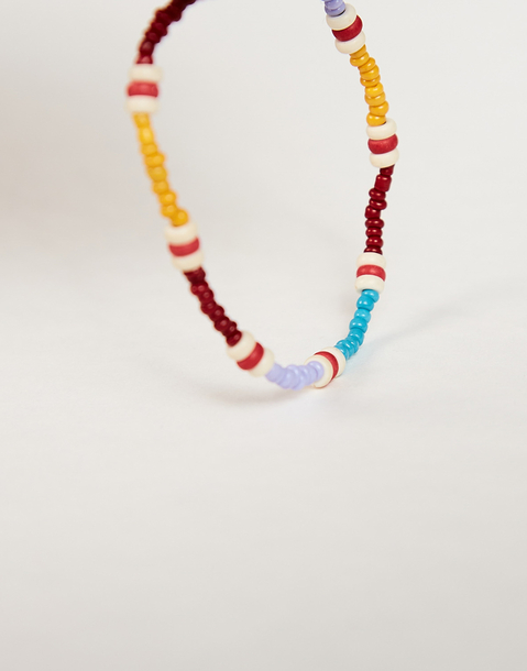 pulsera elastica multicolor