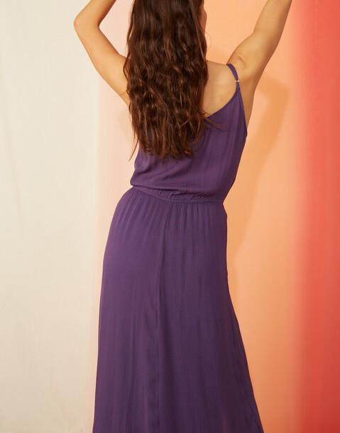 robe longue bretelles et poches