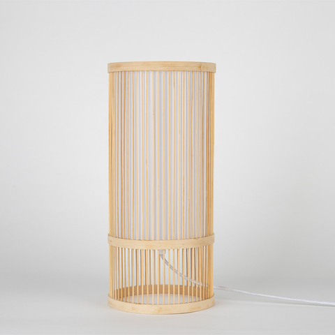 LARGE WOODEN LAMP