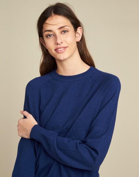 ranglan crew neck sweater