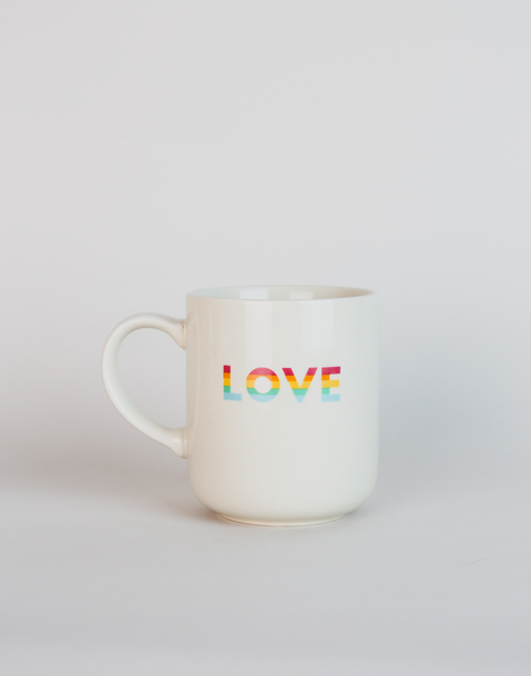 taza love arcoiris