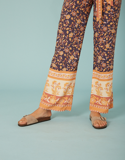 mix florals lounge pant
