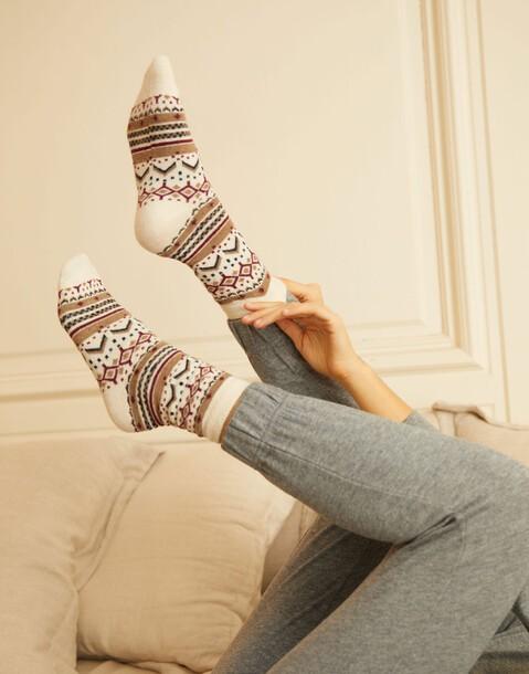 pack of jacquard socks