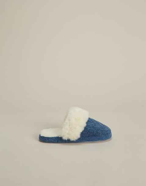 fleece furry slipper
