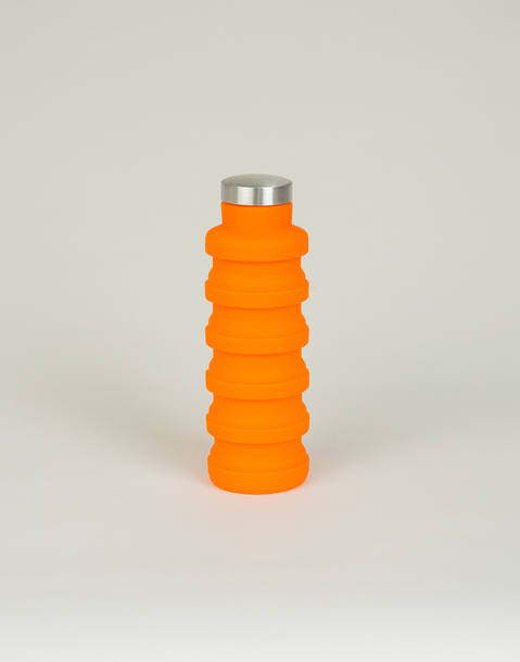 bouteille silicone pliable 500 ml