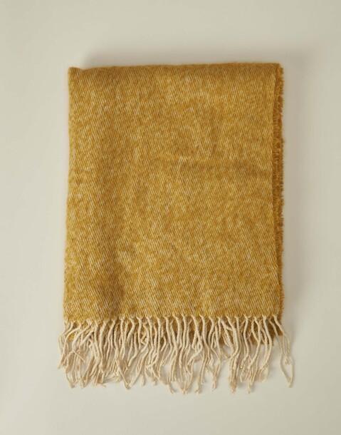 twill winter scarf