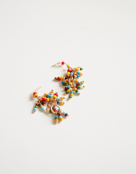multibeads drop earring