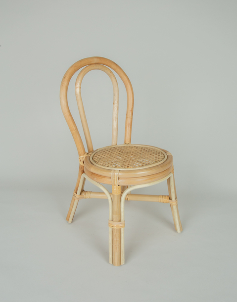 rattan children's chair