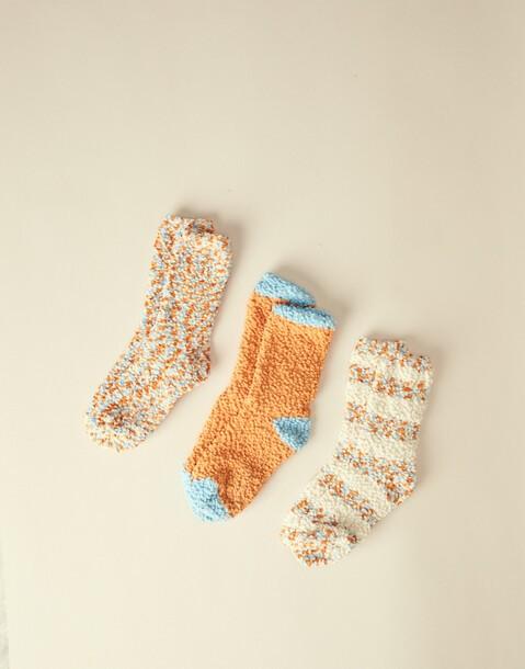 fleece socks 3-pack