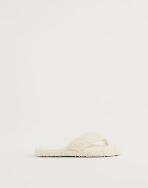 chaussons flip flop éponge