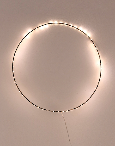 big ring string lights