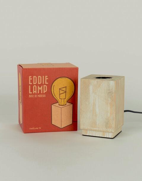 wooden lampholder