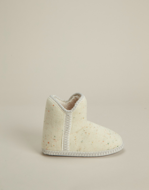 white boot slipper