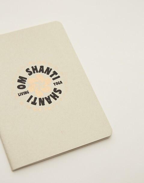 om shanti notebook