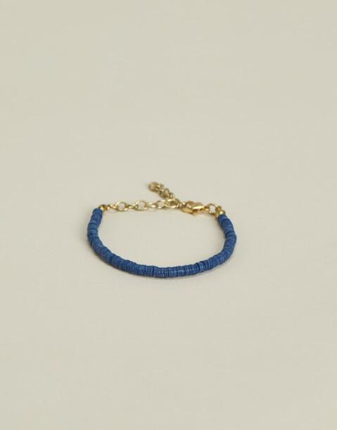bracelet perles disques