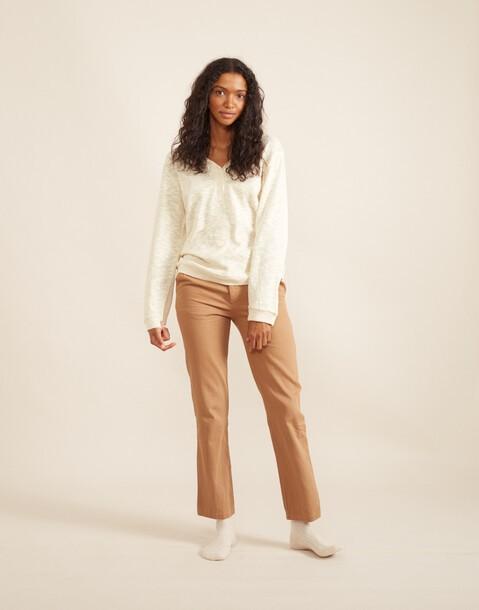 pantalon large basique