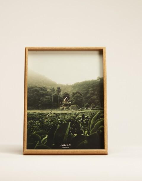 cornice legno 22x30