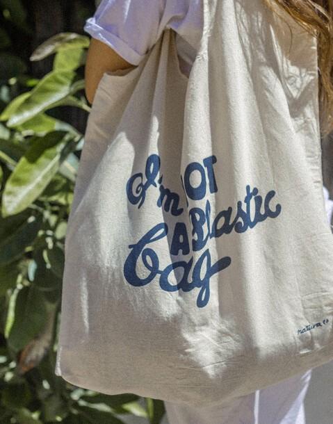 bolsa i'm not a plastic bag