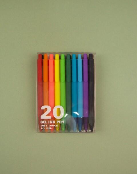 pack 20 bolis gel