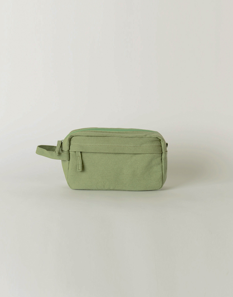 canvas toilet bag