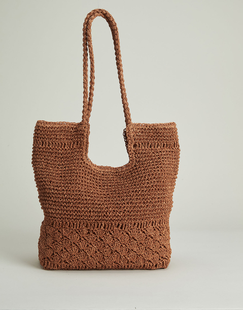braided basket bag