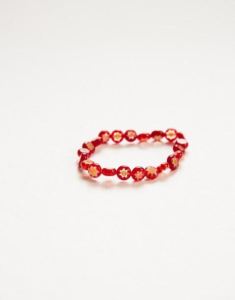 crystal daisies bracelet