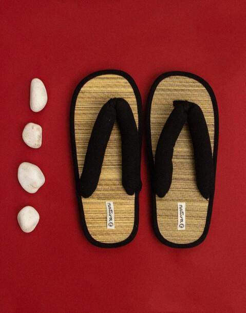 flip flop bambú