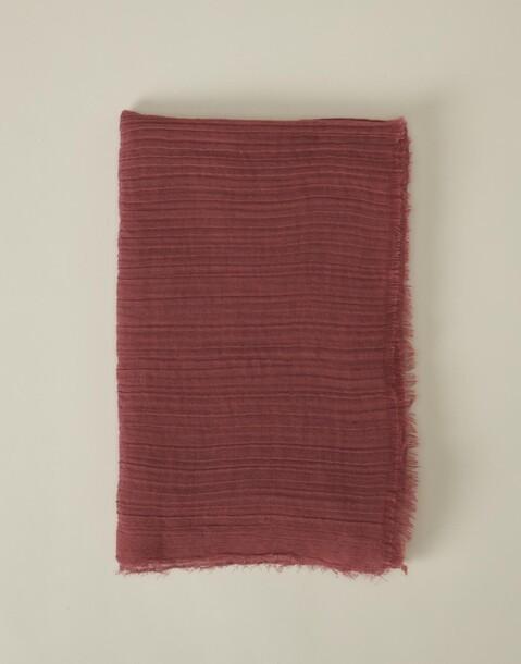 foulard uni doux