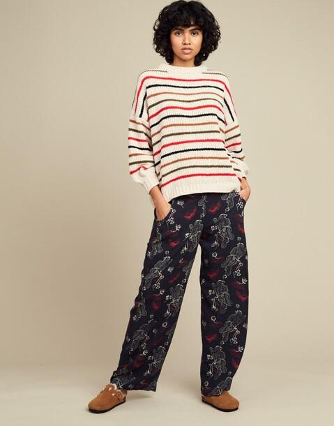 pantalon print japones
