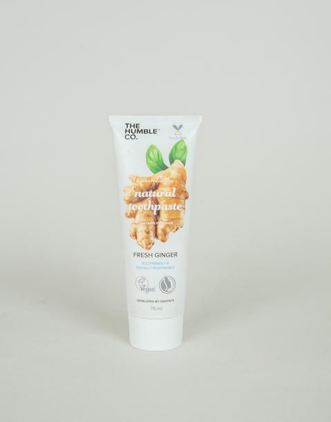 ginger natural toothpaste