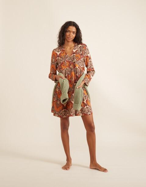 robe courte baroque