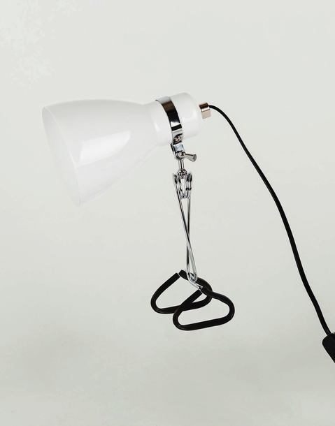 cone clamp lamp