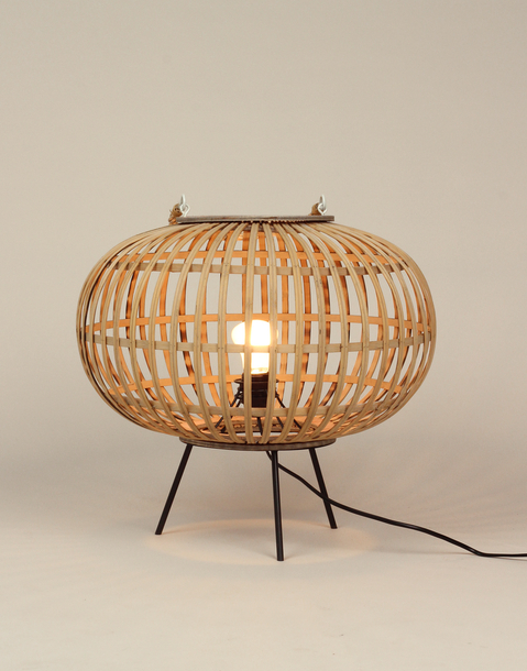 bambo table lamp