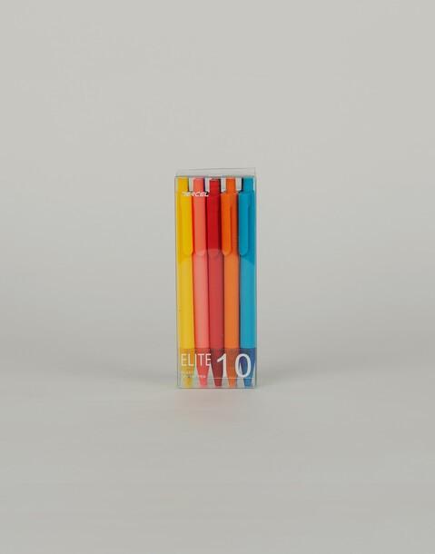 set of 10 color pens