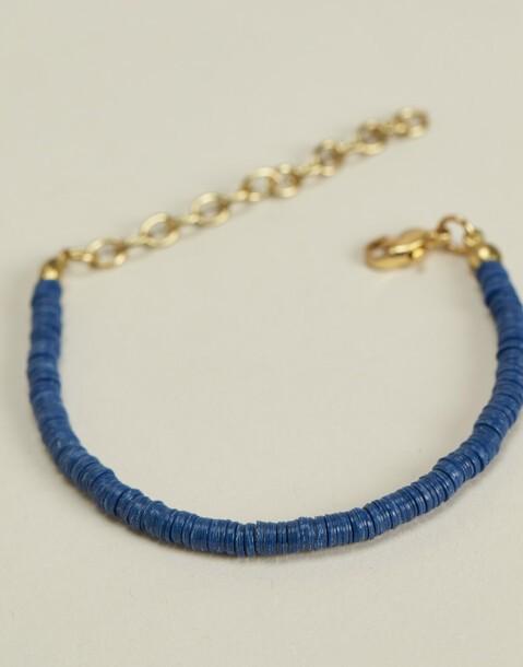 disc beads bracelet