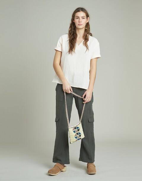 pantaloni cargo ramia