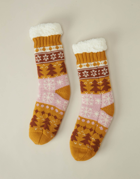 xmas slipper sock