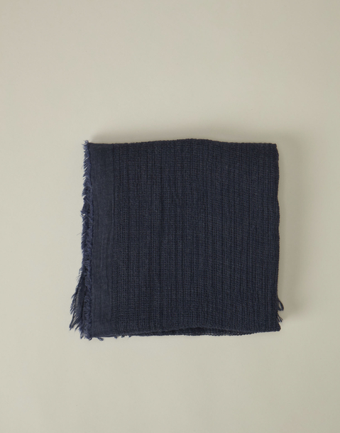 waffle knit scarf