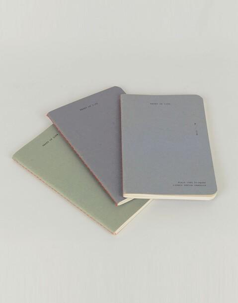 3 notebook set