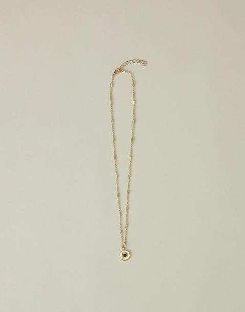 gold medal chain necklace