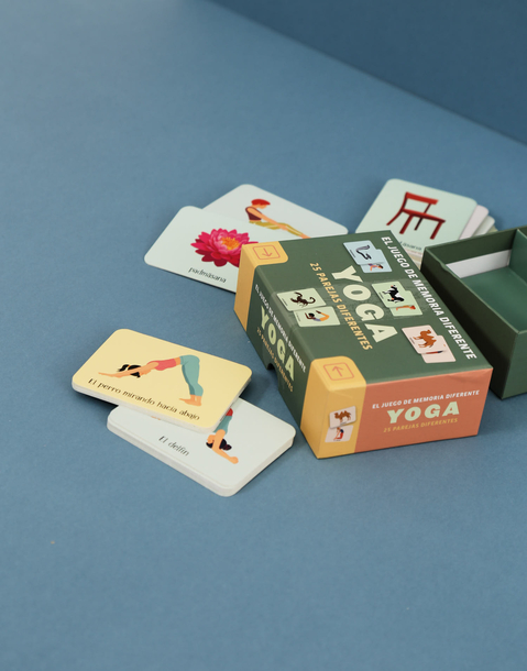 memory game: yoga (spanish)
