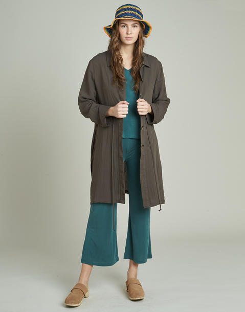 long lightweight jacket